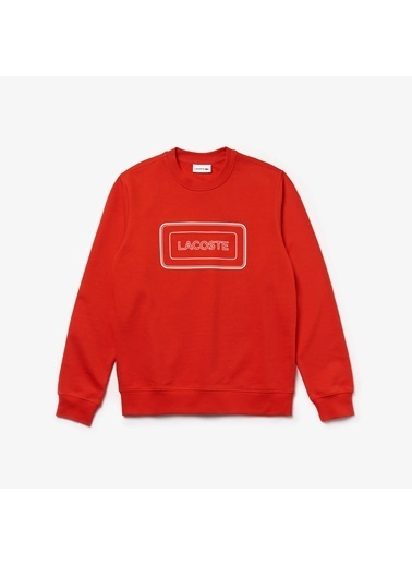 Lacoste Erkek Motion Sweatshirt SH8806.S5H Kırmızı